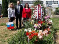 Гробът на червеноармейците