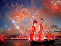 «Алые паруса» в Санкт Петербург събраха десетки хиляди випускници