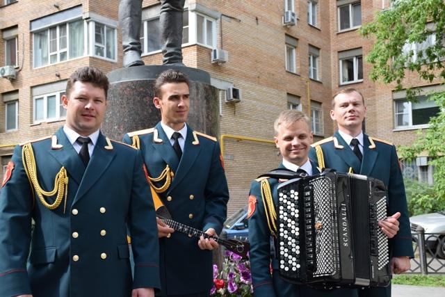 """Ансамбълът за песни и танци на Руската армия """"Александров"""""""
