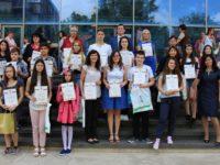 Награждаване на победителите в XII Национален ученически конкурс
