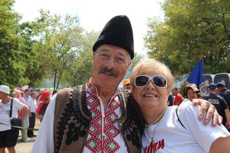 Роденият в смолянско село Димитър Малчев дойде с гайдата си от Усогорск на събора