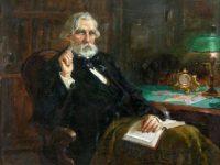 На 9 ноември 1818г. е роден големият писател  И.С. Тургенев