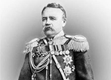 Ген. Николай Г. Столетов – ръководител на дипломатическа мисия в Афганистан, 1878
