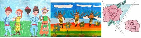 X международен конкурс за детска рисунка –V кръг