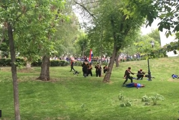 """""""Битка за Шипка"""" в Струковския парк"""