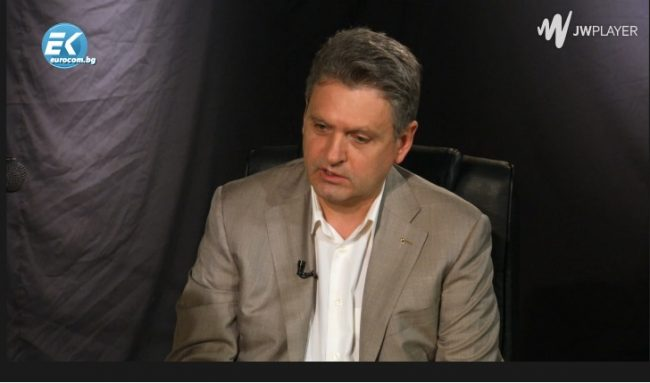 Гостуване на Николай Малинов в предаването на Жорж Ганчев по ЕВРОКОМ