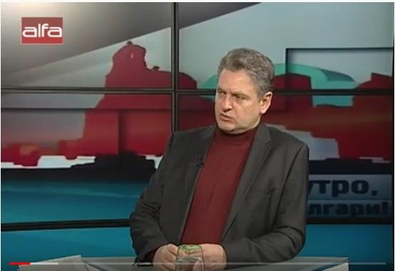 Николай Малинов гост на телевизия alfa