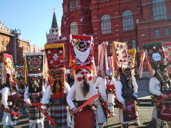 Кукери в Москва