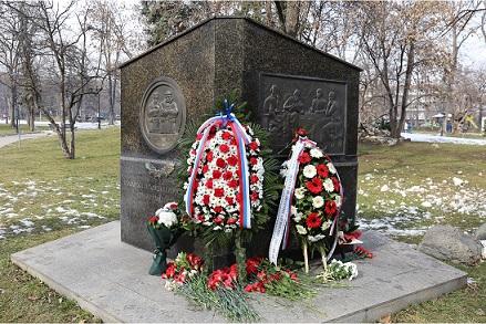 В София отбелязаха Деня на руския дипломат