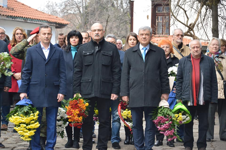 Русофили почитат руските освободители на Горна Джумая