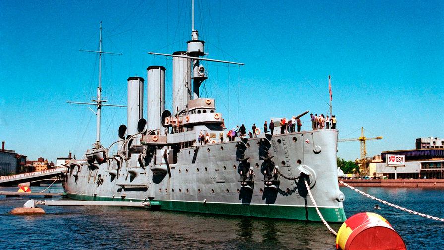 120 лет со дня спуска на воду крейсера «Аврора»