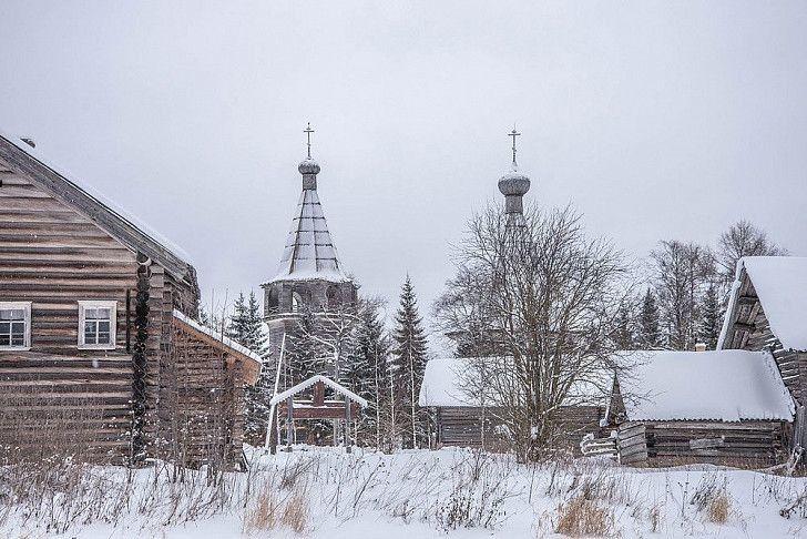 Сребърният пръстен на Русия. Архангелска област – село Ошевенский Погост