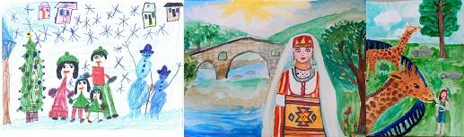 XII международен конкурс за детска рисунка – I кръг
