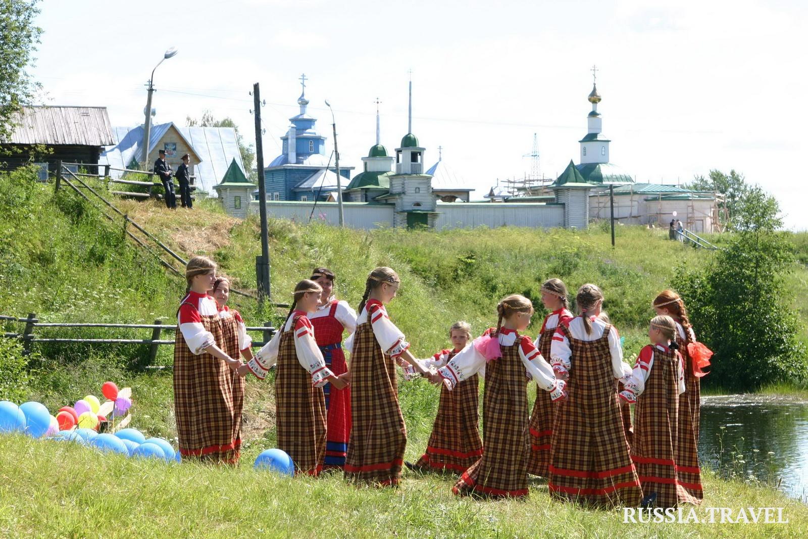 Сребърният пръстен на Русия. Република Коми – село  Уст-Вим