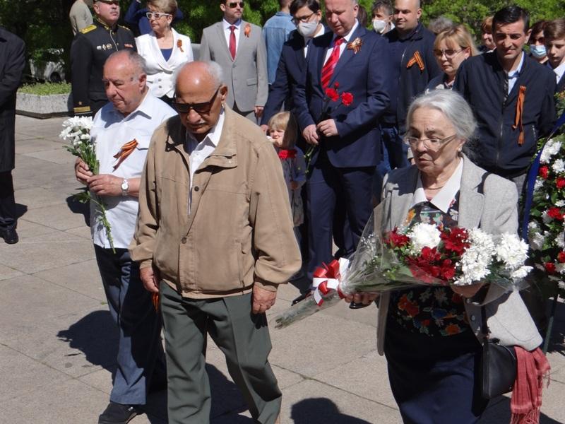 Честване на 76 години от Деня на Победата в София