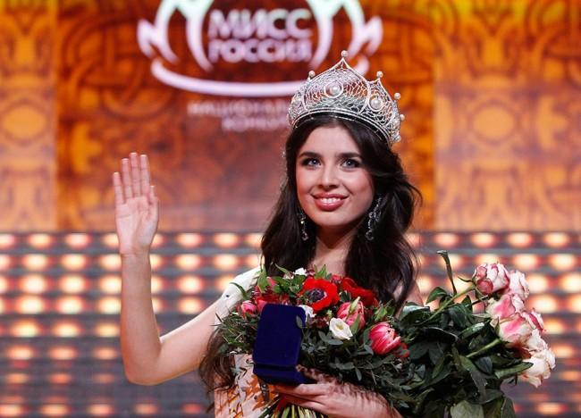 Избрана е новата Мис Русия