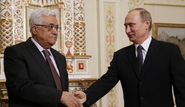 Абас поздрави Путин за успехите на Русия на международната сцена