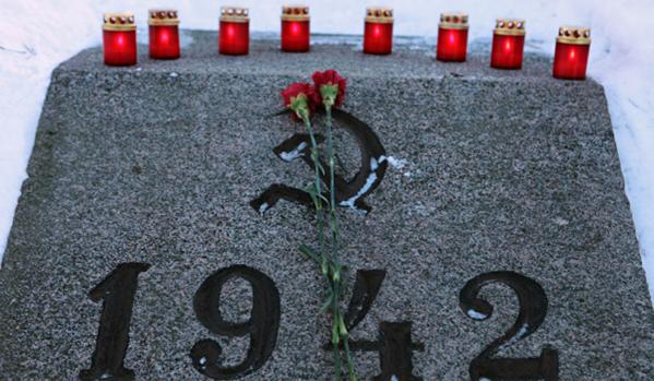 Путин почел паметта на загиналите по време на блокадата на Ленинград