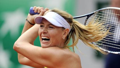 Мария Шарапова, която в момента е №3 в световната ранглиста