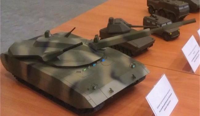 Новият руски танк ще бъде показан през 2015 г.
