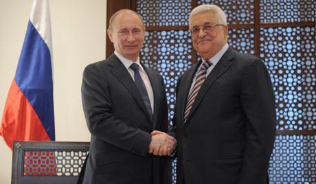 Абас честити на Путин успехите на Русия