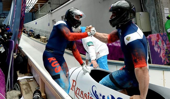 Сочи-2014: руските състезатели спечелиха златен медал на двойки по бобслей