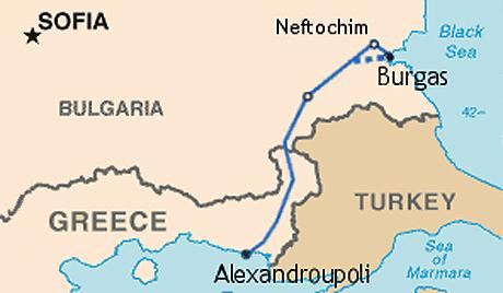 Русия и България се върнали към обсъждане на проекта Бургас-Александруполис