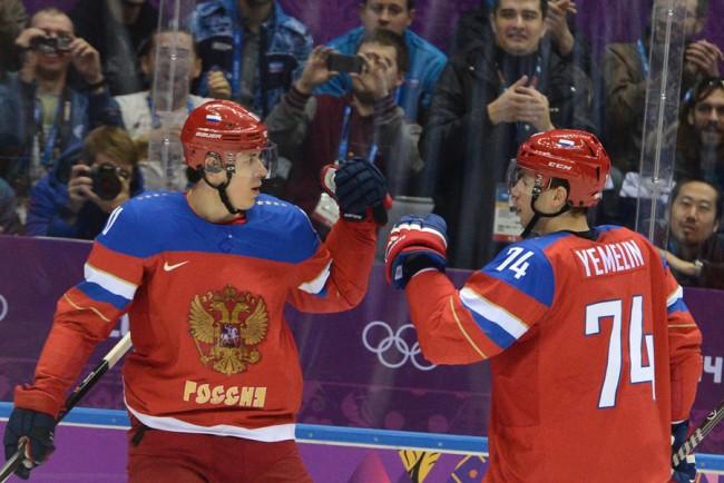 Руските хокеисти победиха словенците в първия мач на Олимпиадата