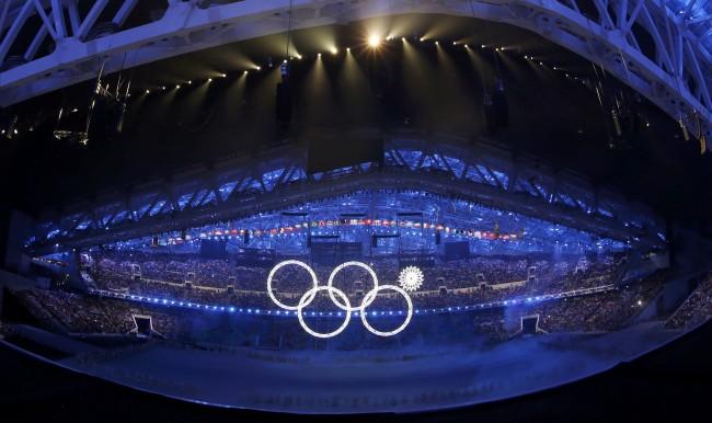 Преди минути бяха открити XXII Зимни игри в Сочи.