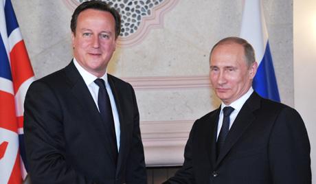 Путин обсъди с Камерън ситуацията в Украйна, Сирия и иранската ядрена програма
