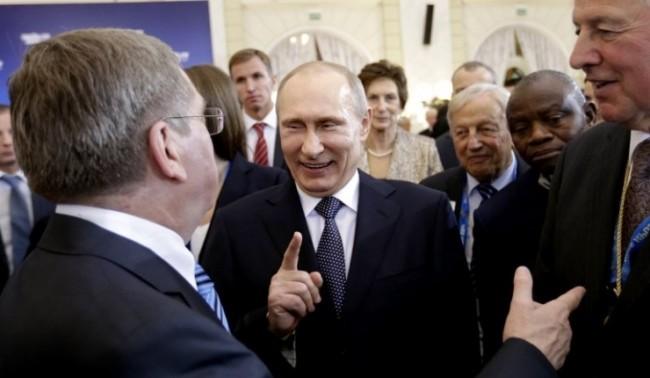 Путин за Олимпиадата в Сочи