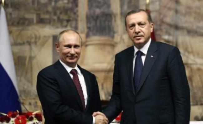 Путин и Ердоган са изразили увереност, че в Крим ще бъде обезпечен междунационалният и междуконфесионален мир