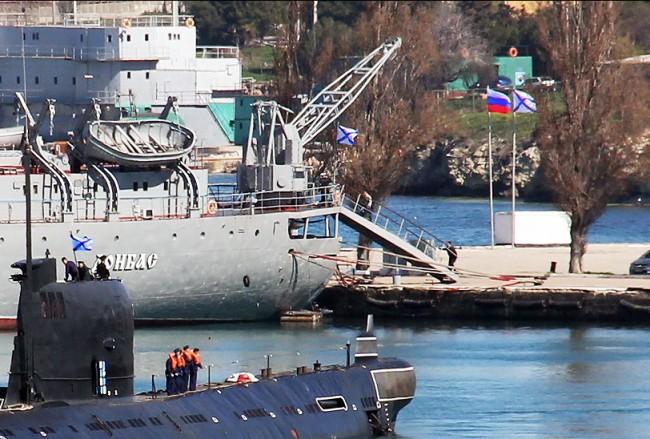 Над  30 украински кораба преминават към руския Черноморски флот