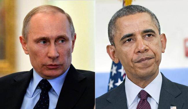 Обама позвънил на Путин