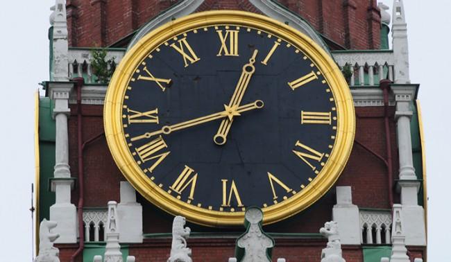 От 30 март в Крим въвеждат московско време
