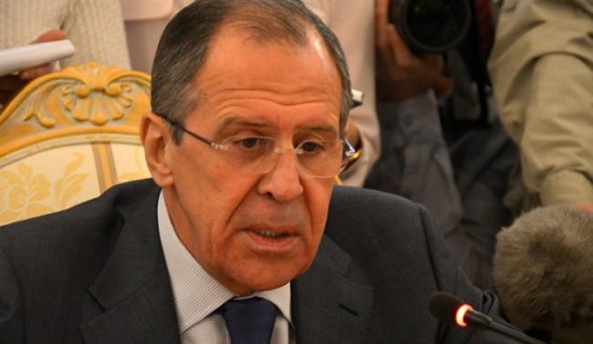 Среща между Лавров и и.д. външен министър на Украйна се провежда в Хага
