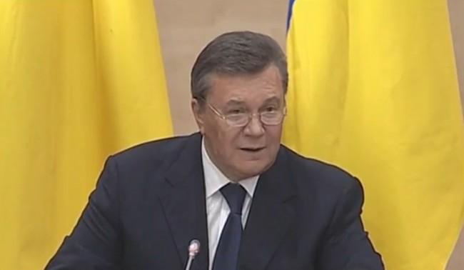 Янукович помолил Путин да въведе войски в Украйна