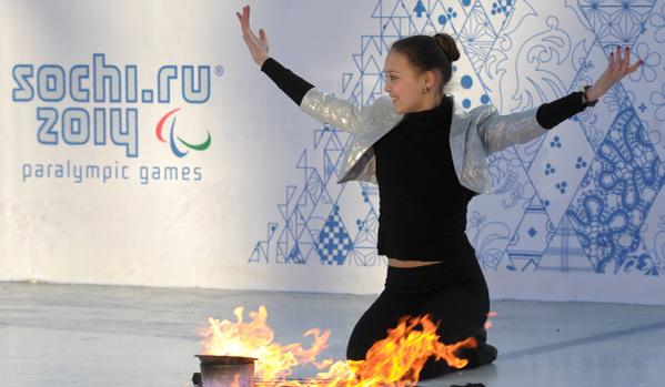 В Сочи пристигнали параолимпийски отбори