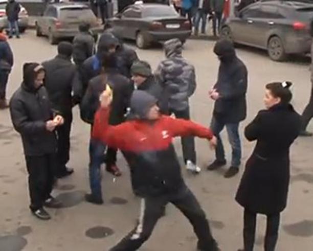 В Харков обстреляха мирни протестиращи