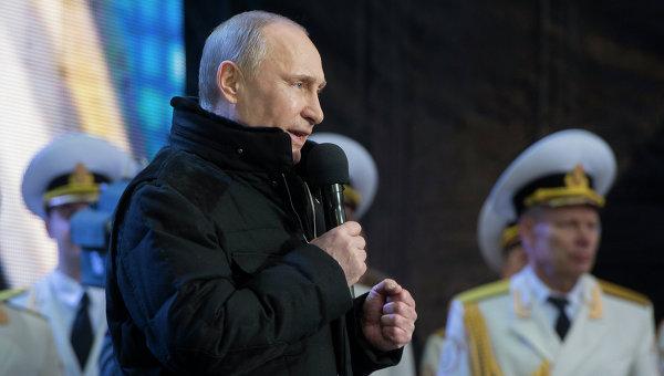 Путин: Крим и Севастопол се връщат в родното пристанище