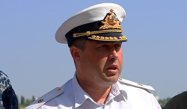 Бившият командир на украинския флот беше назначен за заместник-командир на Черноморския флот на Русия