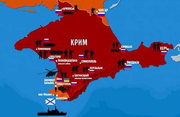 На кого принадлежи Крим