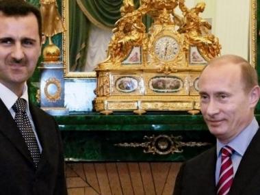 Асад подкрепи Путин за Украйна