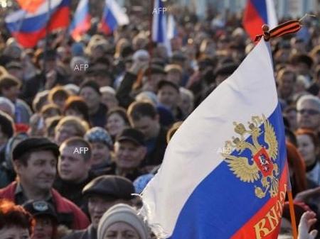 Около 600 хиляди души са излезли по улиците на Русия в подкрепа на Крим