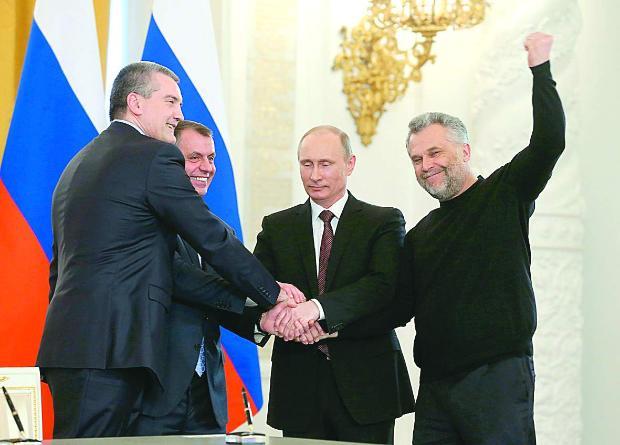 Путин прие Крим и Севастопол