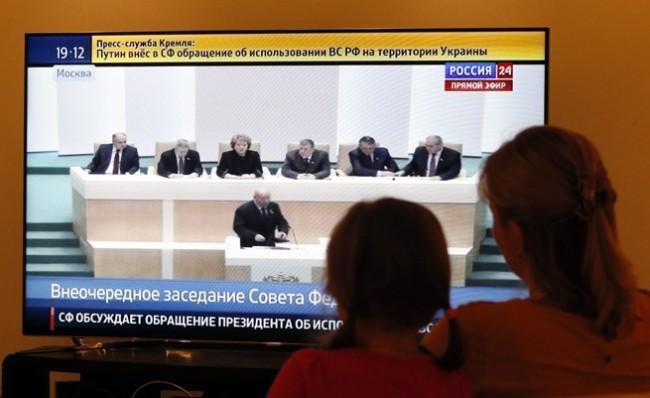 Киев спира излъчването на руски тв канали в Украйна