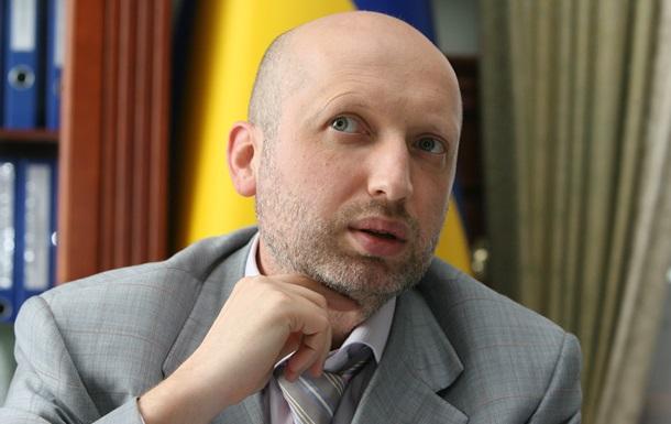 """Турчинов внесе декларация """"за борба за освобождаване на Украйна"""""""