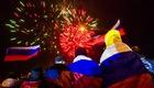 Фойерверки на победата озариха Москва и Крим