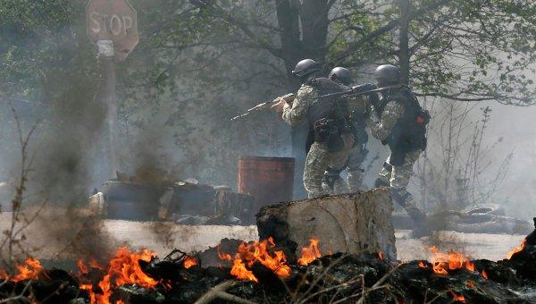 Настъплението в Славянск е отбито