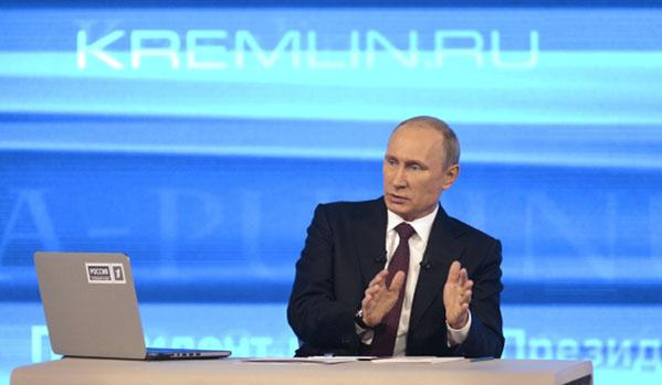 Путин: Диалогът е единственото решение на кризата в Украйна